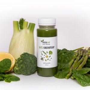 100% groene groentesap