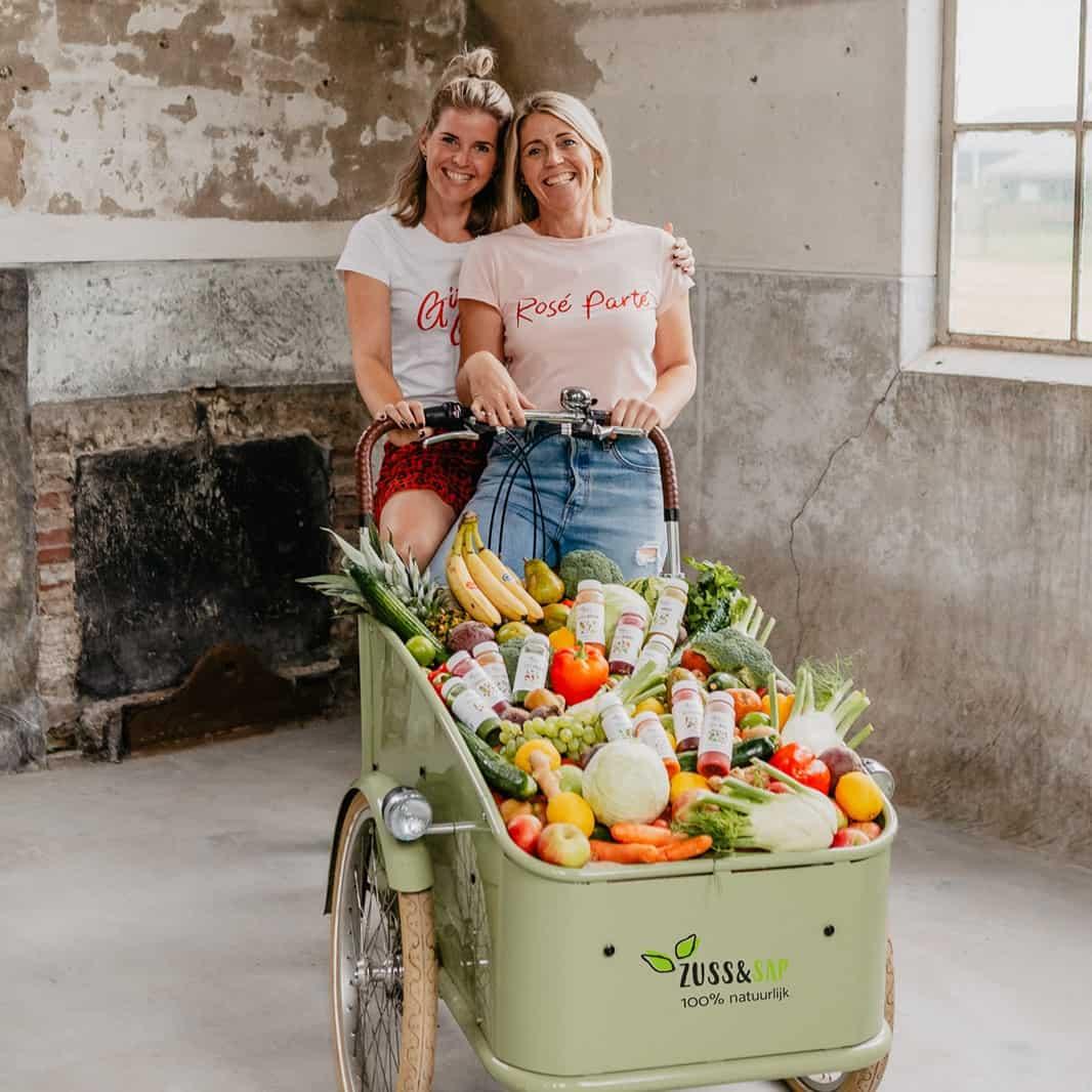 Antioxidanten zitten voor-namelijk in groente en fruit